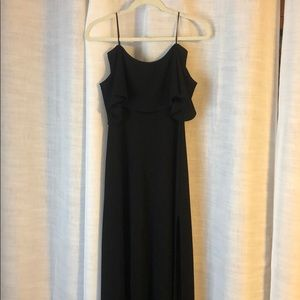 Black, Full Length Dress